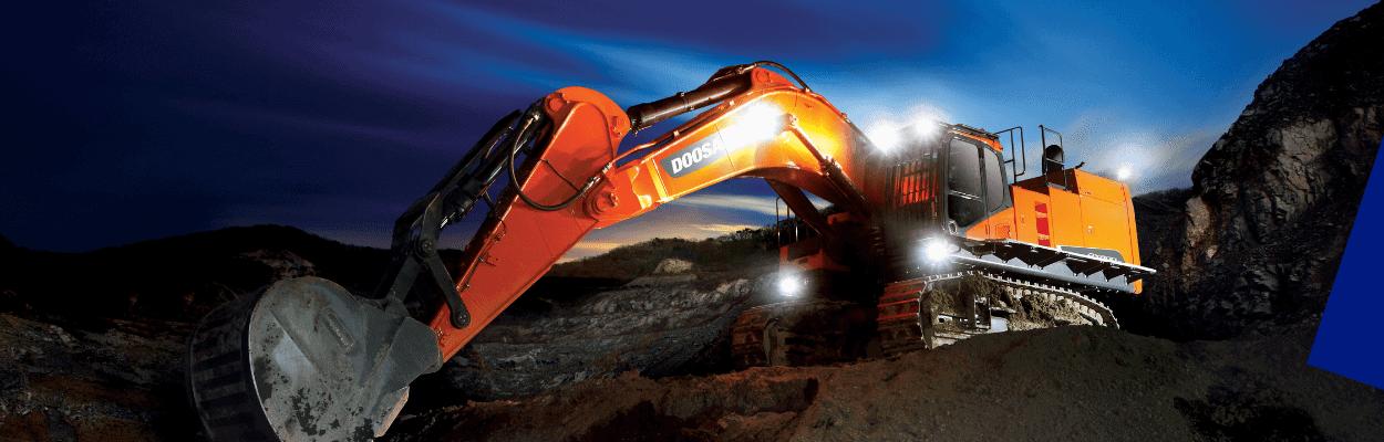 DOOSAN Tracked Excavator Slider